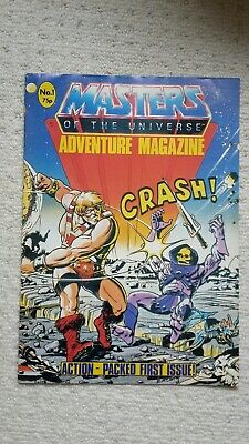 He-Man Masters Of The Universe Adventure (Relaunch) Comic #1 - Very Rare MOTU • 39.99£