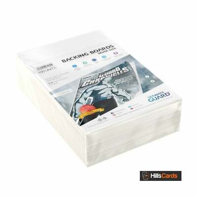 Ultimate Guard 100 Silver Age Size Comic Book Backing Boards | Store Protection • 13.45£