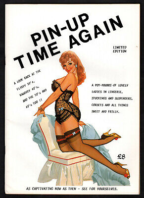 Retro Pin-Up Booklet Photos From 1930's To 1960's Sexy Stockings & Suspenders • 7£