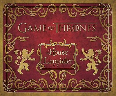 Game Of Thrones: House Lannister Deluxe Stationery Set - 9781608876044 • 9.99£