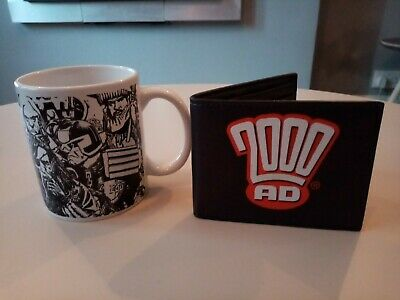 2000ad Mug And Wallet Only Available From The Ultimate Comic Book Collection.  • 3.50£