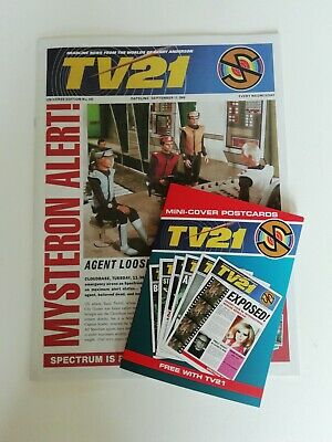 Tv21 Mini Cover Postcards And Tv21 No 243 Reproduction • 8.50£