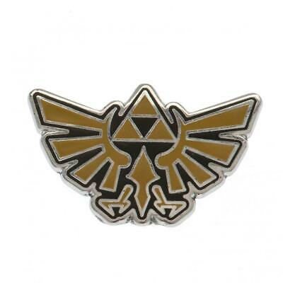 Official Licensed The Legend Of Zelda Metal Enamel Badge Triforce • 2.99£