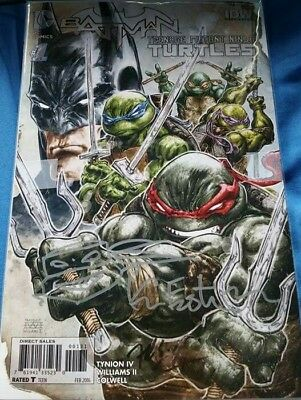 Batman Tmnt Comic • 150£