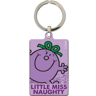 Official Little Miss Naughty Kids Girls Adults Metal Keyring • 3.99£