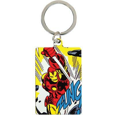 Marvel Comics Metal Keyring Iron Man • 4.99£