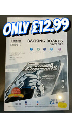 100 Units -Comic Book Backing Boards 178x266mm • 12.99£