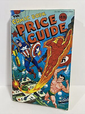 OVERSTREET COMIC BOOK PRICE GUIDE 10th ANNIVERSARY ISSUE 1980 MARVEL FREE SHIP! • 10.72£