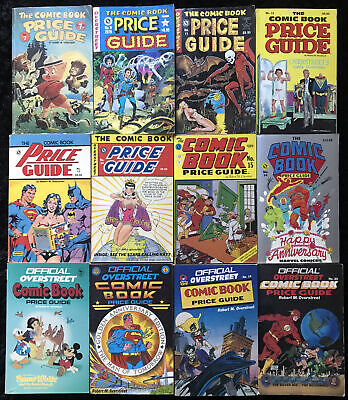 VINTAGE Overstreet Comic Book Price Guide #7-20 (Lot Of 12 Books) 1977-1990 • 60.01£