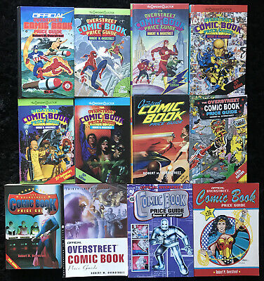 VINTAGE Overstreet Comic Book Price Guide #21-36 (Lot Of 12 Books) 1991-2006 • 60.01£