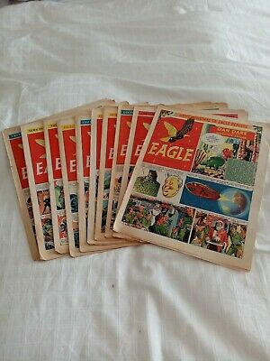 Vintage Eagle Comics 1953 X 10 Vol 4 No's 29-38 • 7.95£