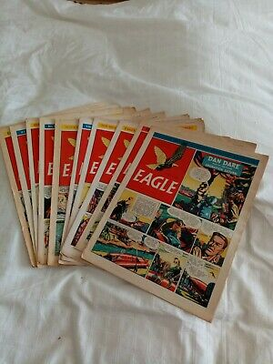 Vintage Eagle Comics 1953 X 10 Vol 4 No's 11-20 • 7.95£