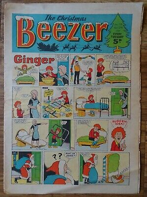 BEEZER COMIC CHRISTMAS EDITION 1969. XMAS. #728 DECEMBER 27th 1969.  • 40£