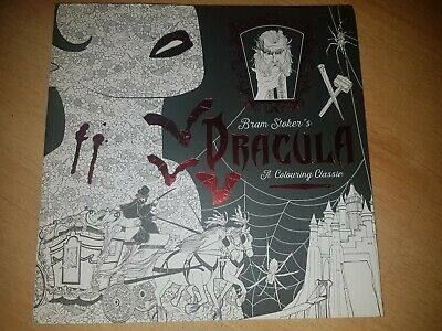 Dracula Adult Colouring Book • 7£