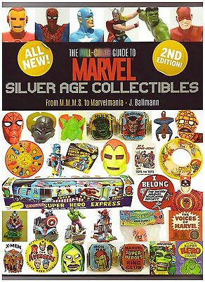 FULL-COLOR GUIDE TO MARVEL SILVER AGE COLLECTIBLES MMMS To Marvelmania Reference • 34.83£