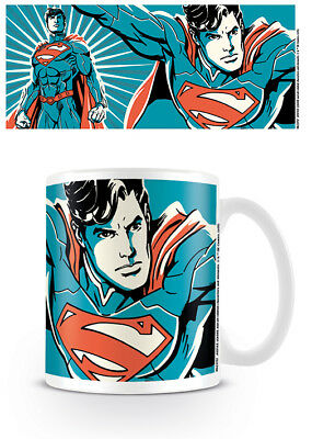 Officially Licensed DC Justice League Superman Mug Tea Coffee Cup • 8.54£