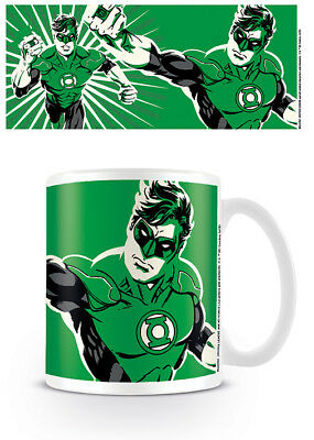 Officially Licensed DC Justice League Green Lantern Mug Tea Coffee Cup • 8.99£