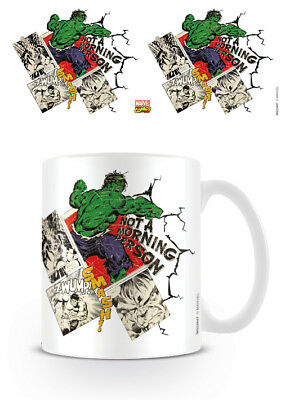 Officially Licensed Marvel Hulk Retro Not A Morning Person Mug Tea Coffee Cup • 8.54£
