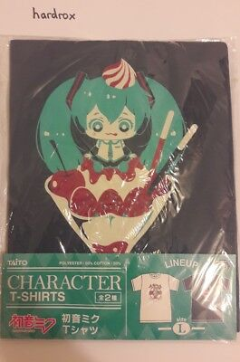 Hatsune Miku T-shirt Official Jamma Taito Limited Crane Game Prize From Japan! • 26.04£