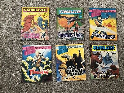 Starblazer Comics - Various Issues • 3.20£