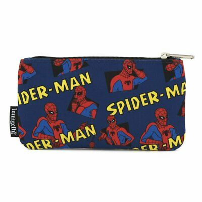 Loungefly Spiderman Nylon Pencil Case • 13.99£