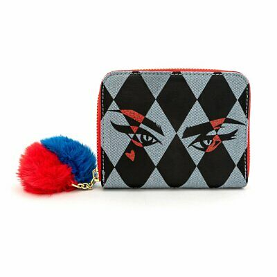 Loungefly X Dc Comics Birds Of Prey Harley Eyes Zip Around Wallet • 33.24£
