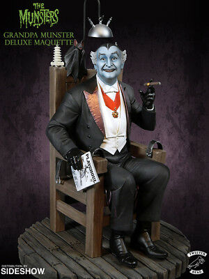 Tweeterhead Sideshow The Munsters   GRANDPA MUNSTER   Deluxe Maquette Statue • 314.71£