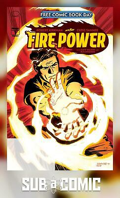FIRE POWER #1 PROMO EDITION FORMERLY FCBD (IMAGE 2020 1st Print) COMIC • 2.19£