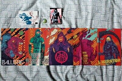 Alexis Liritt Limited Edition POSTER + BLACK MASK Badge Sticker Collectable Card • 3.99£