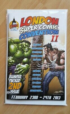Lscc London Super Comic Convention Ii (2013) - Issue 2 - 52 Page Booklet * Nm * • 8.95£