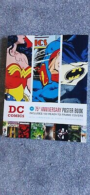 Dc Comics 75th Anniversary Poster Book - 100 Ready-to-frame Covers • 10£