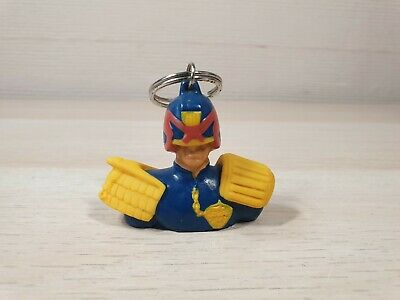 Vintage Judge Dredd OFFICIAL 2000 AD Key Ring 1995  Head + Shoulders RARE Egmont • 14.99£