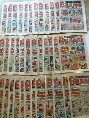 THE BEANO COMIC - 1986 - 37 X ISSUES  • 29.95£