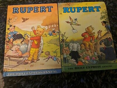 Rupert The Bear Annuals X2 1972 And 1978 • 5£