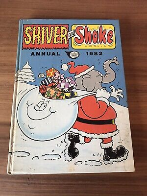 SHIVER AND SHAKE 1982 UK Comic Annual UNCLIPPED • 5£