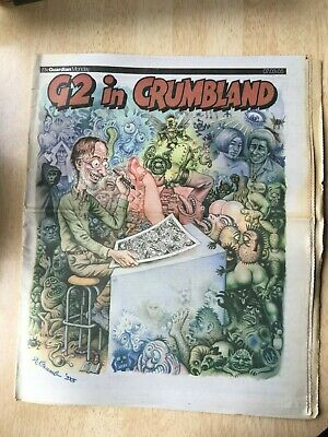 G2 In Crumbland Guardian Newspaper Robert Crumb Comix Pullout 7/3/05 Feature • 1.99£