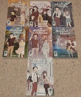 A Silent Voice Manga English All Volumes (1 To 7) • 48£