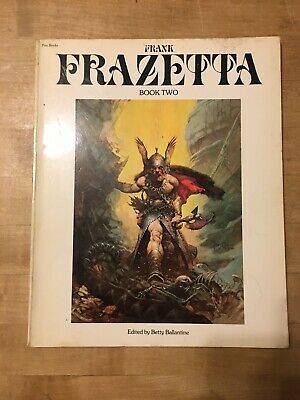 Pan Books FRANK FRAZETTA BOOK TWO, First UK Edition 1977 • 14.99£