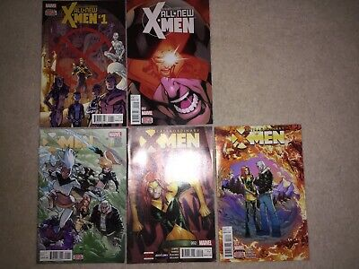 All New X-Men #1-2 Extraordinary X-Men #1-3 Mark Bagely Humberto Ramos • 14£