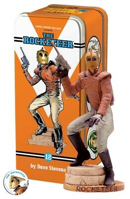 The Rocketeer Dark Horse Classic Comic Character Figure And Tin Syroco Style • 100£