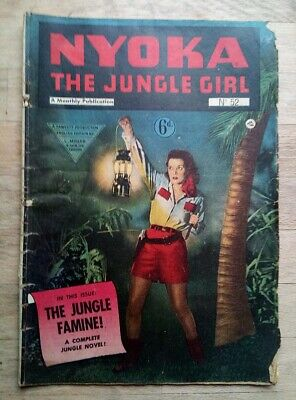 Nyoka The Jungle Girl Comic No. 52 From 1951 - UK Issue • 11.99£