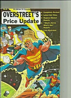Overstreet's Price Update #8 1989 Plus Previews Comics For January 1990 • 10.73£