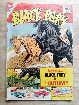 Black Fury Comic No. 27 From 1960 - Cowboy, Western - By Charlton • 1.99£