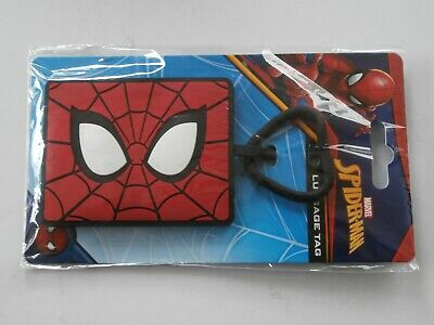 New Official Pyramid Marvel Comics Spidey Spider-Man Vinyl Luggage Bag Tag • 1.95£
