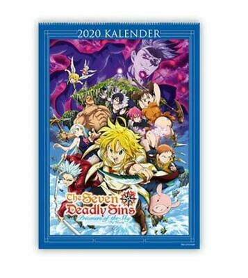The Seven Deadly Sins - Prisoners Of The Sky - Wandkalender 2020 (Anime/Manga)  • 4.82£