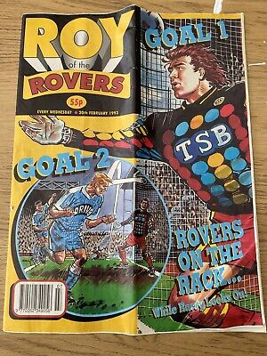 Roy Of The Rovers - 20th February 1993 • 0.99£