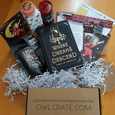 Where Dreams Descend Owlcrate - Fairyloot / Illumicrate • 90£
