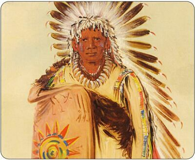 American Indian Chief Mousepad • 7.99£