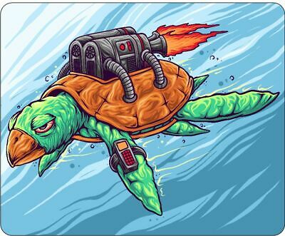 Turtle With Jetpack Mousepad • 7.99£