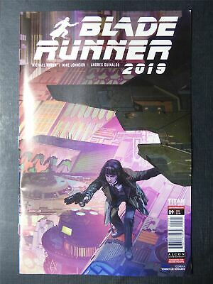 BLADE Runner 2019 #9 - August 2020 - Titan Comics #4DI • 2.30£